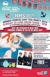 armed forces day tea party
