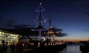 Dockyard festival of christmas